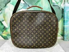 $2150 LOUIS VUITTON Packall GM Brown Monogram Canvas Leather Weekender Bag SALE!