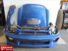 JDM 02 03 Subaru WRX STI Ver 7 BugEye Sedan Front Nose Cut Conversion EJ207 GDA