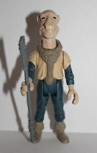 Vintage Star Wars Complete POTF Last 17 Yak Face Figure - 1985 - C9+ - No COO