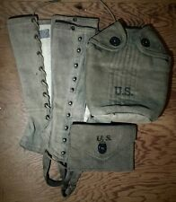 VINTAGE WW2 GEAR: GREAT CONDITION FOR THE COLLECTOR/REENACTOR SEE PICS !!