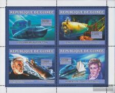 Guinée 4417-4420 Feuille miniature neuf avec gomme originale 2006 transports: na