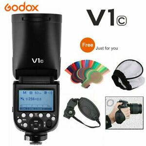 Godox V1C 2.4G TTL HSS 1/8000s Camera Flash For Canon 5D 6D 7D 650D 60D 700D 750