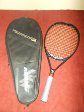 "WONDERWAND Tomahawk Tennis Racquet 4 3/8"" Grip WONDER WAND w/ Case"