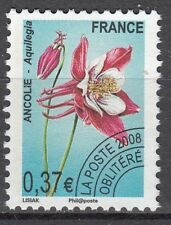 FRANCE TIMBRE  OBL  PREOBLITERE  N° 253     FLEUR ANCOLIE