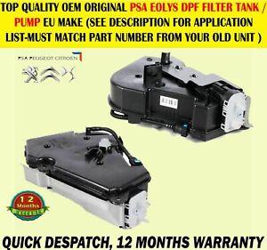 FOR PEUGEOT 308 3008 RCZ CITROEN C4 II DS4 FUEL ADDITIVE DPF FILTER TANK PUMP