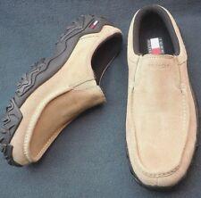 Vintage Mens Tommy Hilfiger Tan Moccasins Hiking Trail Leisure Shoes 10 M