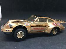 Scalextric ancien  Slot car Porsche 911 Turbo #4 or 1/32 N° 09C circuit AUTO