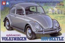 Tamiya 24136 VW Volkswagen 1966 Beetle 1300 plastic model kit 1/24