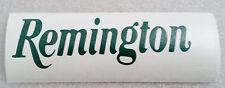 "Remington  Logo High Gloss Green Vinyl Die Cut Gun 5"" Sticker"