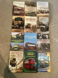 Bus Books Bundle (12 different) Softback, as illustrated.