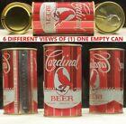 Cardinal Bird Beer 12 oz p/t Can Cardinal Brewing St Charles Missouri 58M Nice