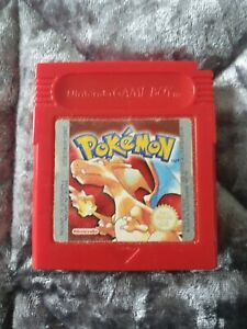Pokemon: Red Version (Nintendo Game Boy, 1999)-European Version Genuine/official
