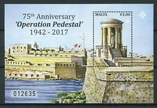 Malta 2017 MNH WWII WW2 Operation Pedestal 75th Anniv 1v M/S Military Stamps
