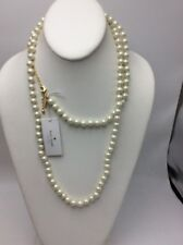 893f9e496947b3 Kate Spade Gold Plated Pearls of Wisdom Glass Pearl Long Necklace Wbruc215