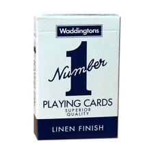 Blue No.1 Waddingtons Playing Cards