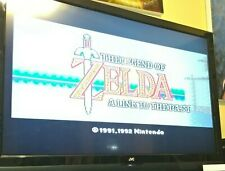 Legend of Zelda Super Nintendo NES A Link To The Past with Box Tested Manual