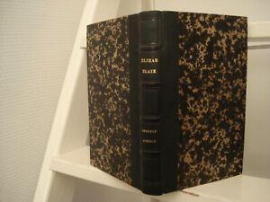BLAZE ELZÉAR LE CHASSEUR CONTEUR1845 TRESSE Exlibris: Du Plessis d' Argentré