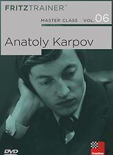 ChessBase Master Class Band 06 : Anatoly Karpov - fritztrainer NEU / OVP Schach