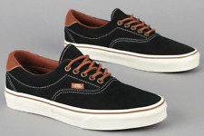 Vans Era 59 (H&L) (MLX) Suede Black Mens Canvas Leather Lace Up Trainers Unisex