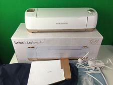 Cricut Explore Air Gold Edition Complete Working Die Cutting Machine White