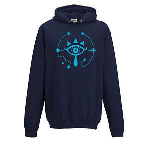 Sheikah Eye Symbol Zelda BOTW Inspired Hoodie