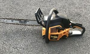 """Poulan Pro PP4218AVX Chainsaw W/18"""" Bar & Chain 42cc. Has Compression Nice Saw"""