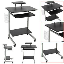 Computer PC Desk Study Table Workstation W/ Adjustable Sliding Keyboard Tray See