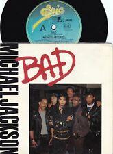 Michael Jackson ORIG OZ PS 45 Bad EX '79 Epic 6511007 Soul Dance Pop Rock