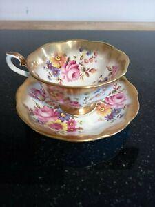 Royal Albert Treasure Chest Series Tea Cup and Saucer.