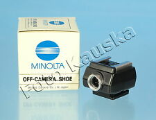 Minolta Off-Camera Shoe / Blitzschuh - (50732)