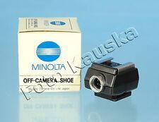 Minolta Off-Camera Shoe / Blitzschuh - (50732)