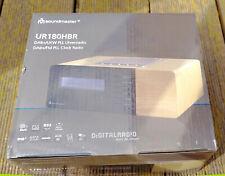 Soundmaster UR180HBR DAB+ UKW Uhrenradio DAB Wecker inkl. Fernbedienung