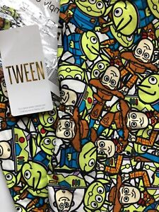 BNWT Lularoe Tween Disney Leggings!/ Toy Story Buzz Woody Aliens Colorful HTF!