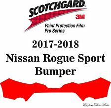 3M Scotchgard Paint Protection Film Pro Series Fits 2017 2018 Nissan Rogue Sport