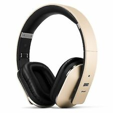 August Ep650 Bluetooth Wireless Stereo NFC Headphones With 3.5mm Rechargeable B