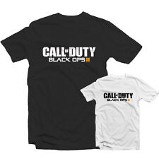 CALL OF DUTY BLACK OPS 3 T SHIRT 1484 - Xbox Ps4 Gamer Zombies COD BO3 Nuketown