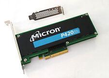 Server SSD Micron P420m PCIexpress 1,4TB 1400GB PCIe 2.0 x8 MTFDGAR1T4MAX