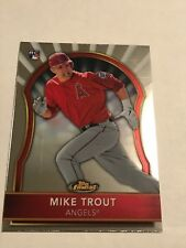 MIKE  TROUT 2011 TOPPS FINEST ROOKIE CARD RC #94  ANGELS  2X MVP!