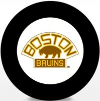 Boston Bruins NHL Vintage 1928-29 Team Logo Souvenir Hockey Puck