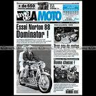 LA VIE DE LA MOTO LVM N°222 ★ ESSAI NORTON 500 DOMINATOR 88 ★ RETROMOBILE 1998