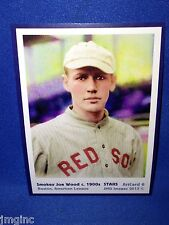 Smokey Joe Wood, Boston, ArtCard #6 - Baseball card  of Star player c.1900s