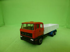 TEKNO CHASSIS+TRUCK BED LION CAR CABIN DAF TRUCK - HAND BUILT - GOOD CONDITION