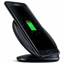 NEW Samsung Galaxy S8  S7 Edge S6 Fast Qi Wireless Charger Pad With Stand