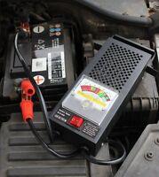 Car Diagnostic Tool Heavy Duty 6V 12V Digital Car Battery Tester Faulty Detector