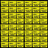 BULK LOT 48 SECURITY VIDEO SURVEILLANCE CCD CCTV SPY CAM CAMERAS WARNING STICKER