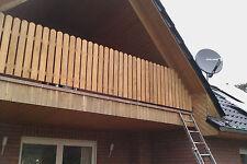 Pos.2 Balkonbretter Eiche Zaunbretter Holzzaun aus Eiche, Eichen Zaun