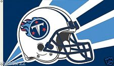Tennessee Titans Huge 3' x 5' NFL Licensed Helmet Flag / Banner - Free Shipping