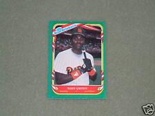 TONY GWYNN-FLEER-Star Sticker Card- #52-1987