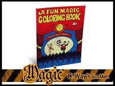 P055 Close-Up Funny Magic Mini Trick A Fun Magic Coloring Book For Kids Magician