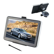 "8GB 7"" Touch Screen ​Car GPS SAT NAV Navigation System FM Speedcam UK+EU maps"